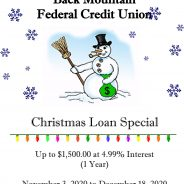 Back Mountain Federal Credit Union Christmas Loan Special